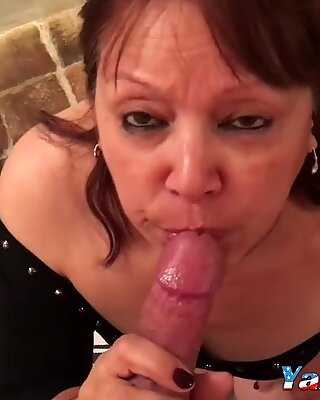 Mature Asian Blowjob & Fuck P.O.V