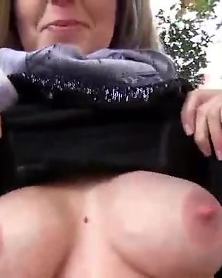 Public Fuck For Cash With Sexy Amateur Euro WHore 09