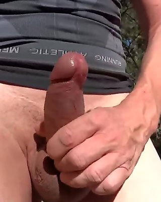 walk in the woods and show my dick 02 (HD)