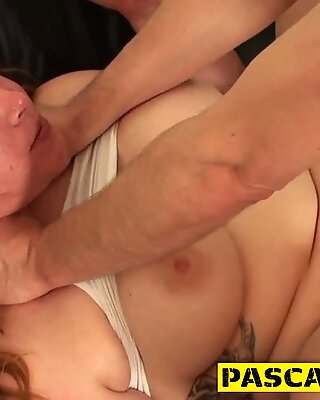 Deep throated bdsm slut