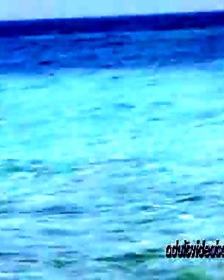 Nudist Beach Teen Girls Voyeur Serie 34