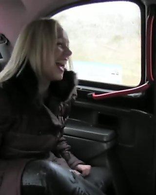 FakeTaxi Scottish blonde with a big ass