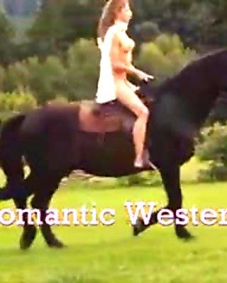 Nackte Reiterin - Nude Horsewoman