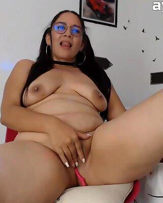 Big but and big tits amateur bbw masturbation