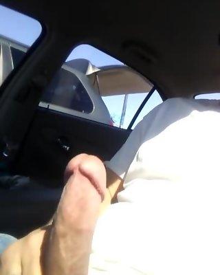 Parking lot dick flash