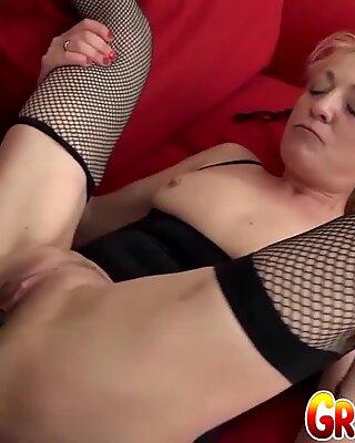 Granny Vs BBC - Adriana Love Ass Fucked