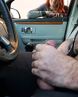 Car Dick Flash 1st time. Hooker prostitute