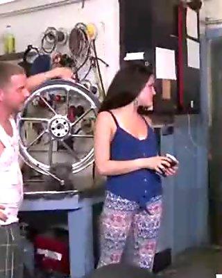 Hard Sex Tape For Lots Of Cash With Sluty Girl (Kaci Lynn) video-18