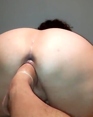 His fucking foot in my pussy