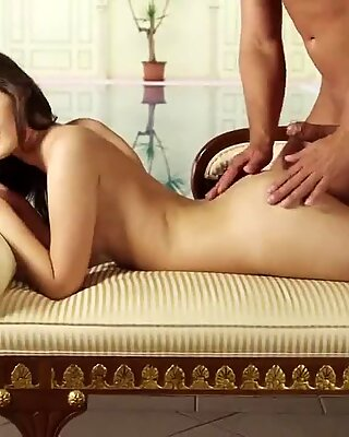 Sweet cutie opens up tight twat and gets deflorated