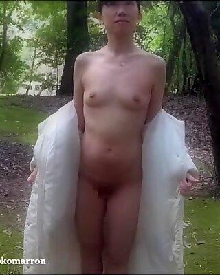 Japanese exhibitionist wife (Blurred ver.) - The Secret    VLOG    Episode 38