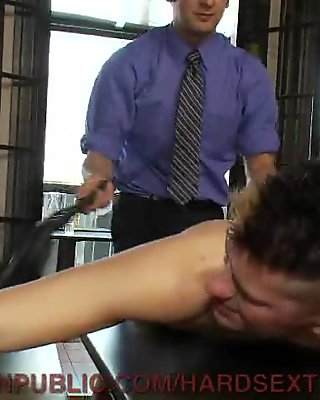 Hot Guy Bound and Fucked in Public For the First Time