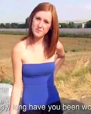 Sexy Slut Czech Teen Picked Up And Fucks In Public 24