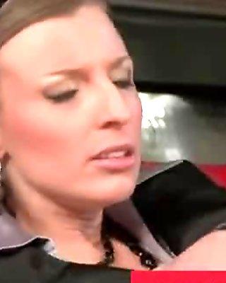 Shameless lesbians get hot in public