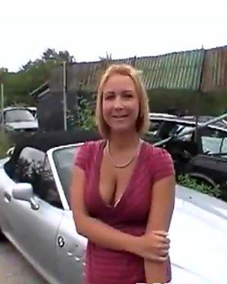 PublicSex In The BangBus With Wild Porno-Star