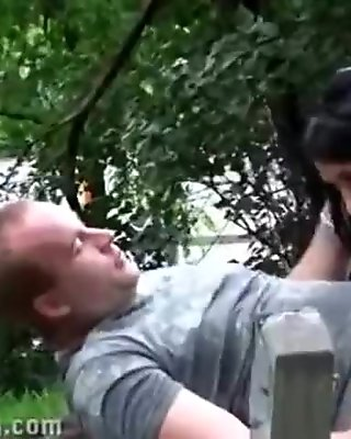 3 some in park