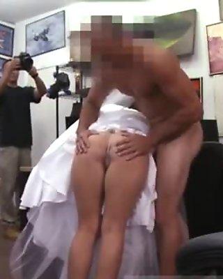 Public agent cute A bride's revenge