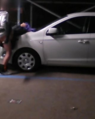 Fucked by stranger in parking lot - Sorpresa per Nemi, bendata e scopata