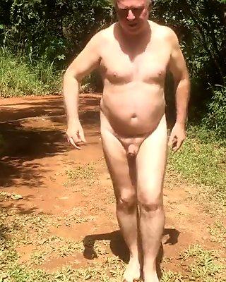 German Man Nude