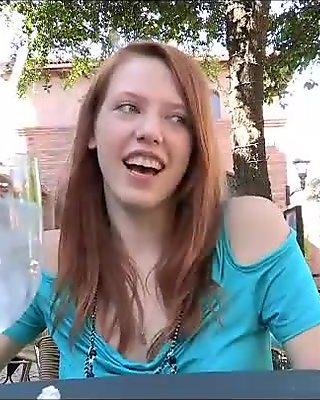 Lacie lovely brunette babe public flashing tits and pussy