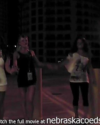 Hot South Girls Streaking And Public Nudity In Tampa