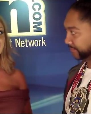Brittany Chase with KJAG Radio AEE 2017