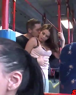 Bonnie - Fucking on a PUBLIC BUS!!
