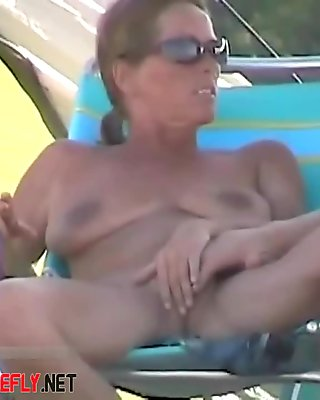 Amateur Public Nudity At Kappa Beach  Part 1