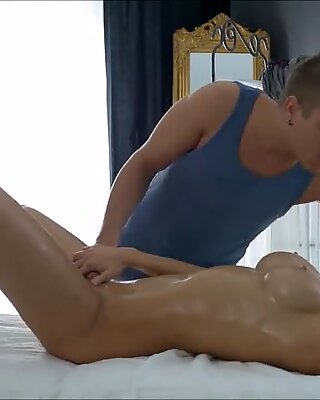 Teen Massage Harpers Takes Cock Deep In Her Ass
