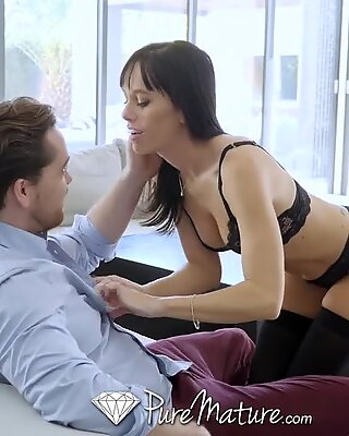 PUREMATURE Horny GF Filled Up With Cum After Work Party