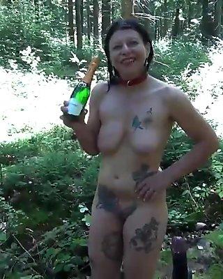 Slut Petra Big Dildo 2014