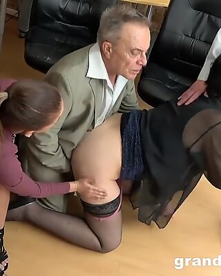 aged vs youthful clumsy Fucking Session