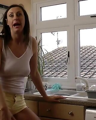 British milf pussylicking stockinged euro gal