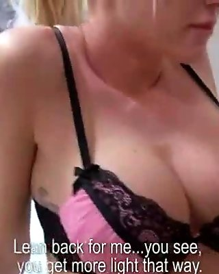 Czech Sexy Teen Amateur Get Fucked FOr Cash In Public 29