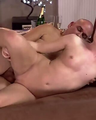 Old man car and granny fingers her ass Vacation in mountains - Kittina Ivory