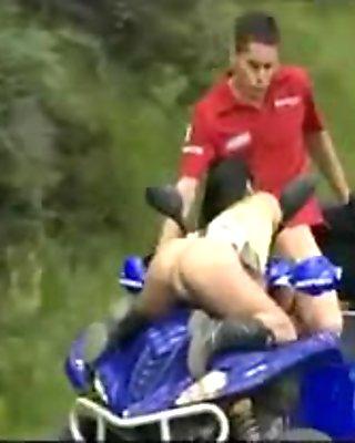 hot fuck on a drive quad