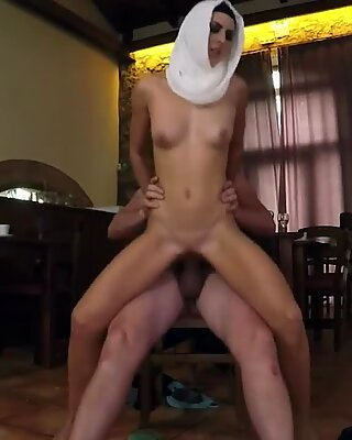 Petite amateur big cock Hungry Woman Gets Food and Fuck
