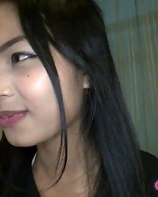 pretty 18yo thai tight teen pussy creampie